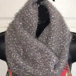 Betsy Johnson infinity scarf / muff